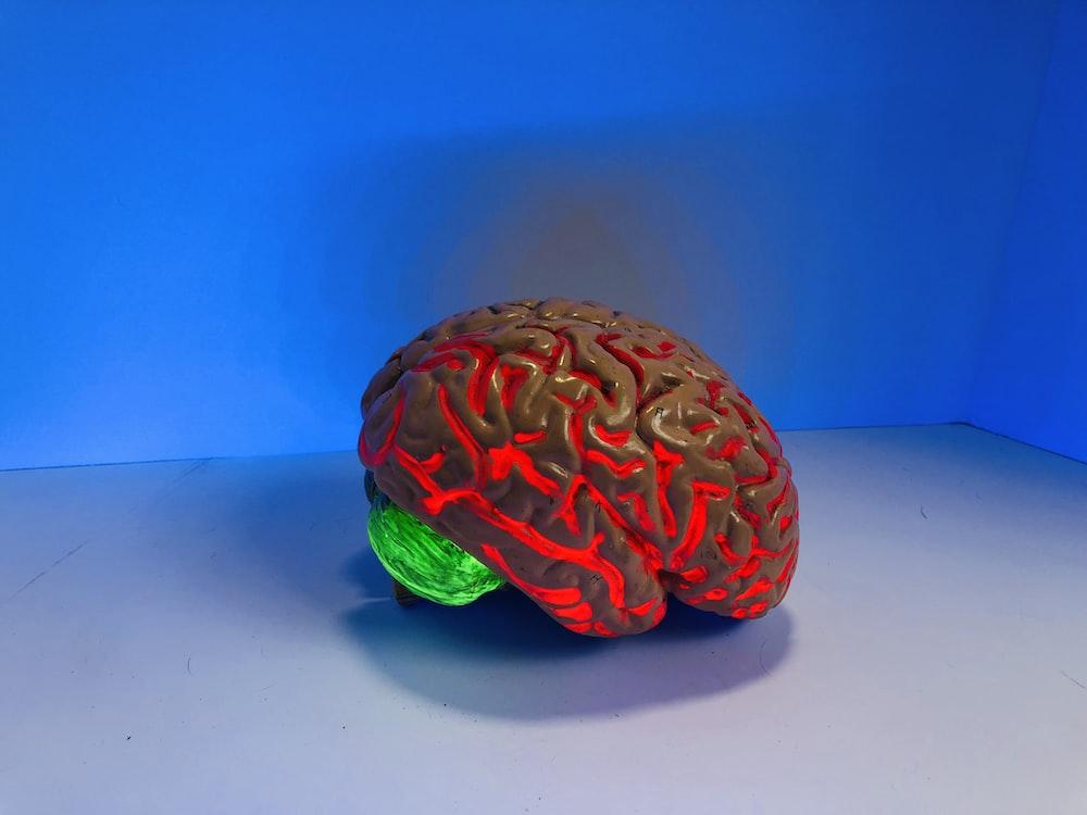 brain figurine
