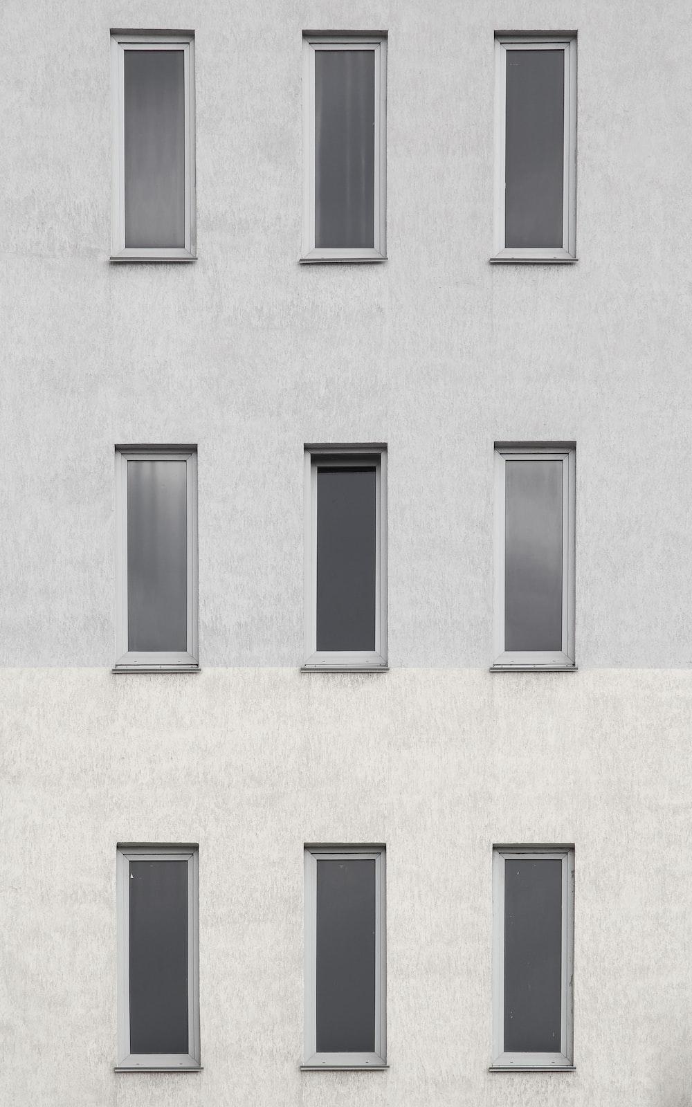 9 building windows