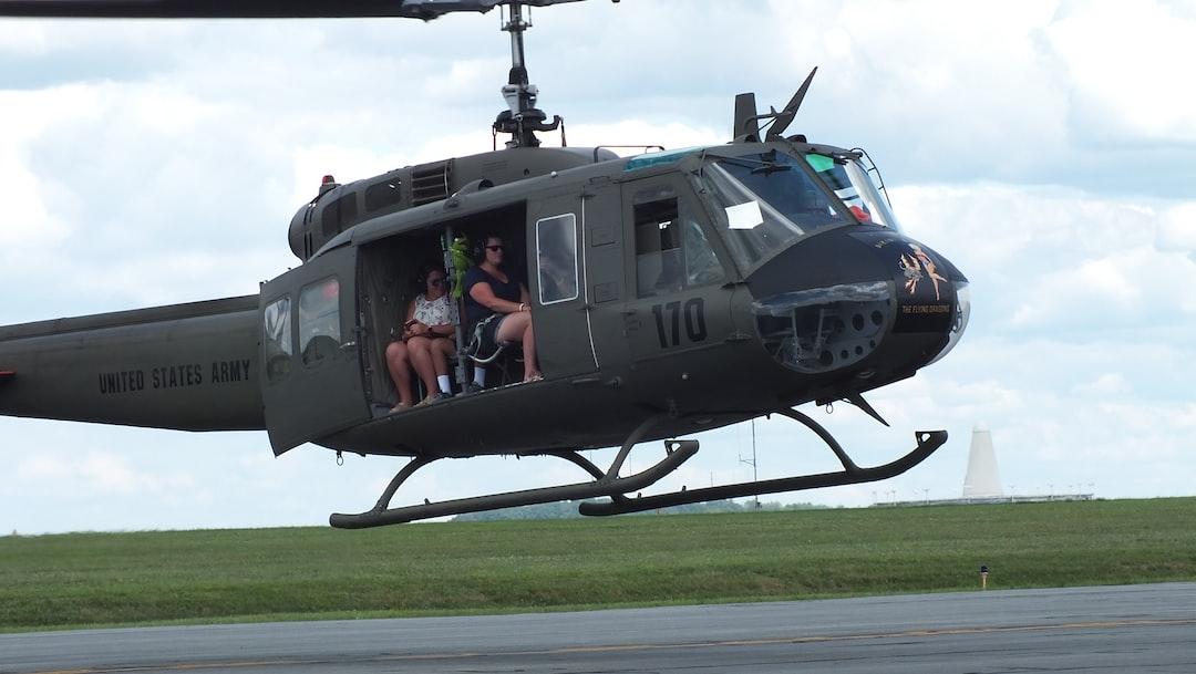 UH-1 Huey Vietnam era helicopter restored by Liberty War Birds. Membership rides at the Lancaster, Pennsylvania Air Show.