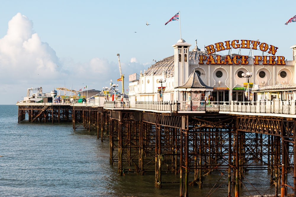 Brighton Palace Pier during daytime