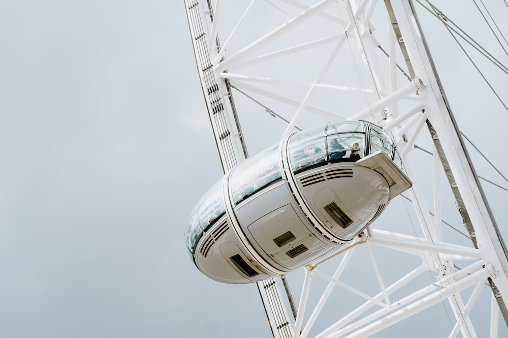 people in London Eye