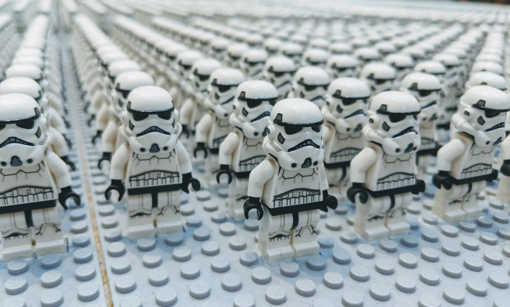 Lego Star Wars Troopers toys