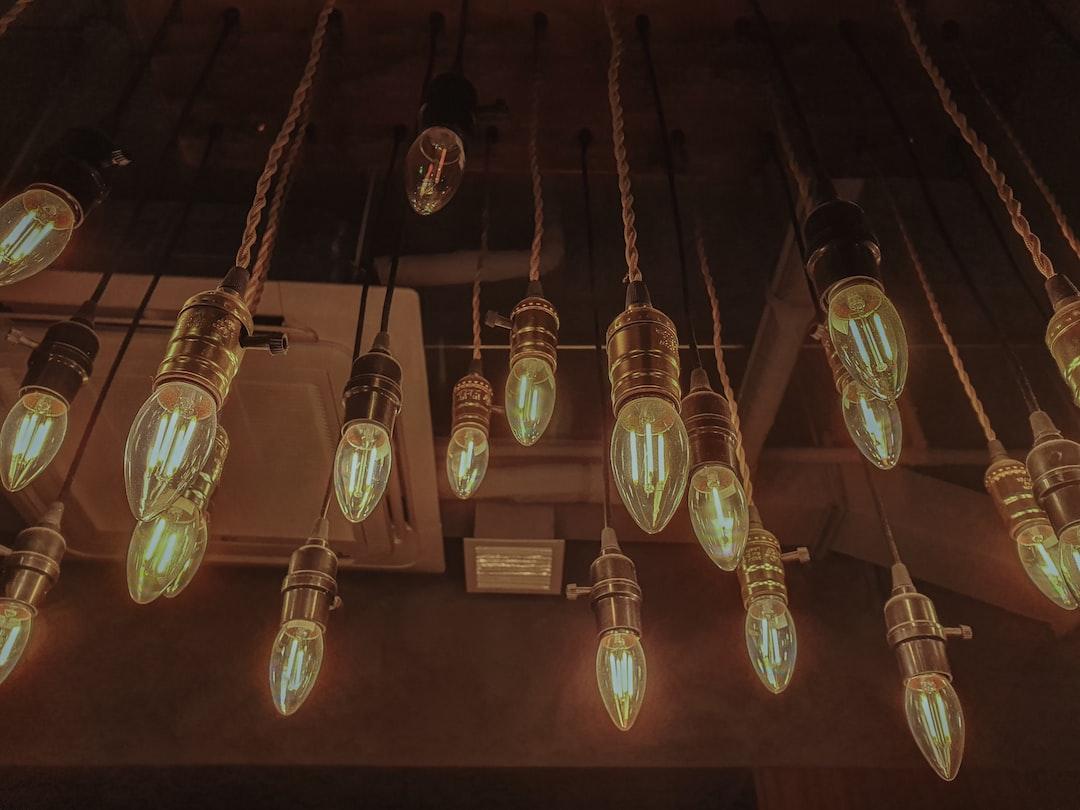 Not your ordinary lighting piece.