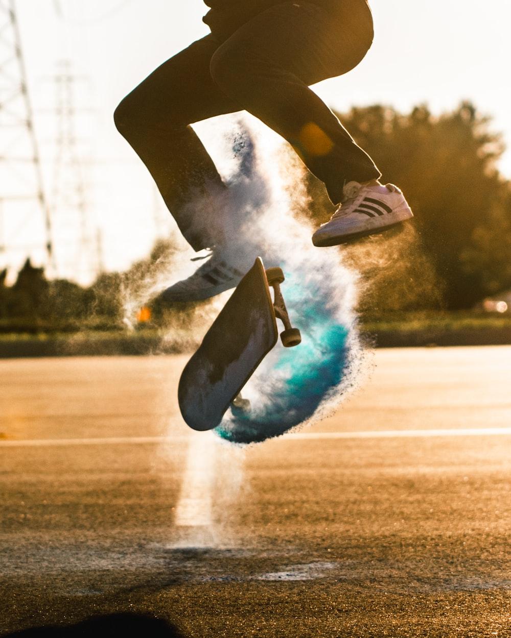 person skateboarding
