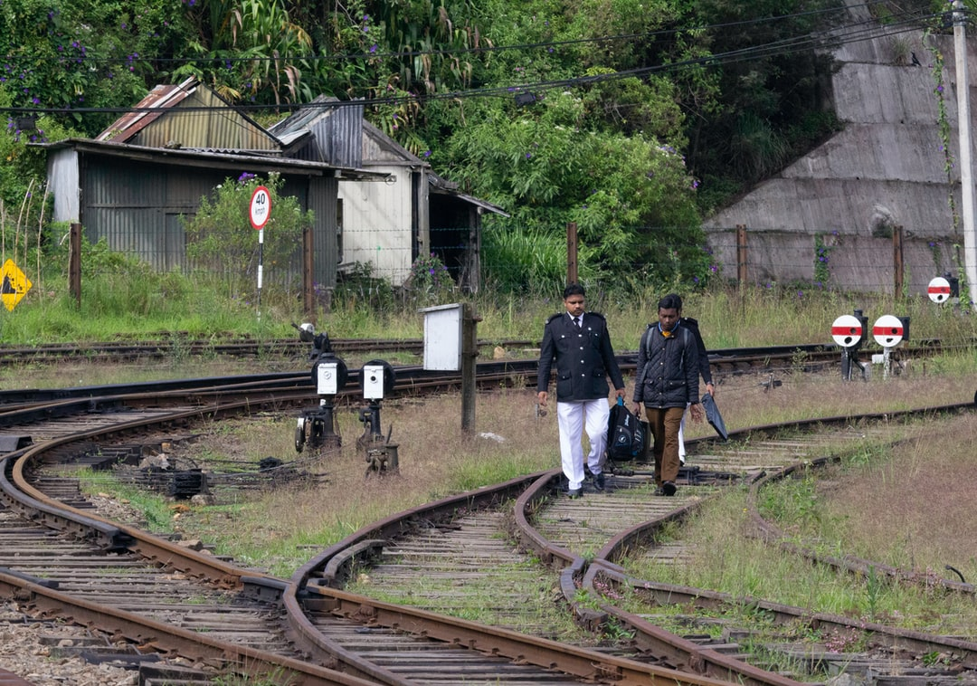The crew arrive to take the train from Nurawa Eliya to Kandy on one of the world's most renowned scenic rail journeys.