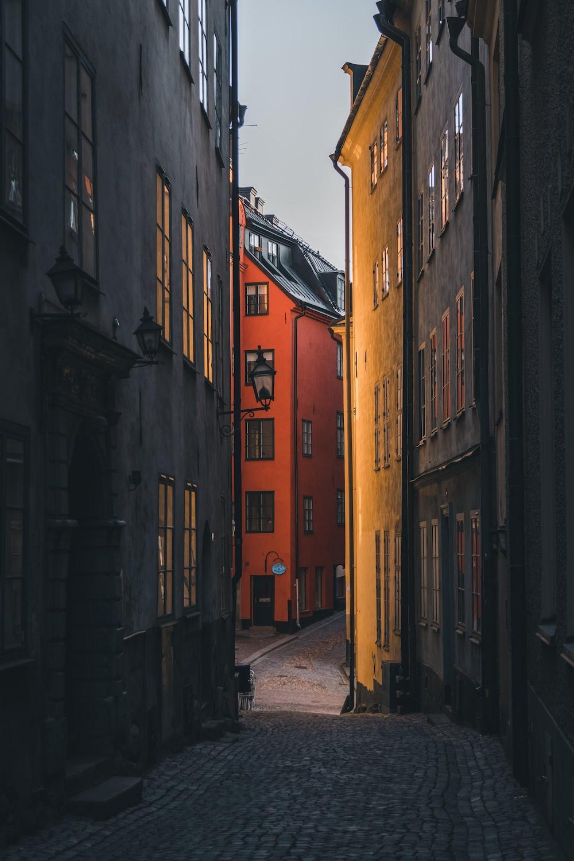 alleyway during daytime