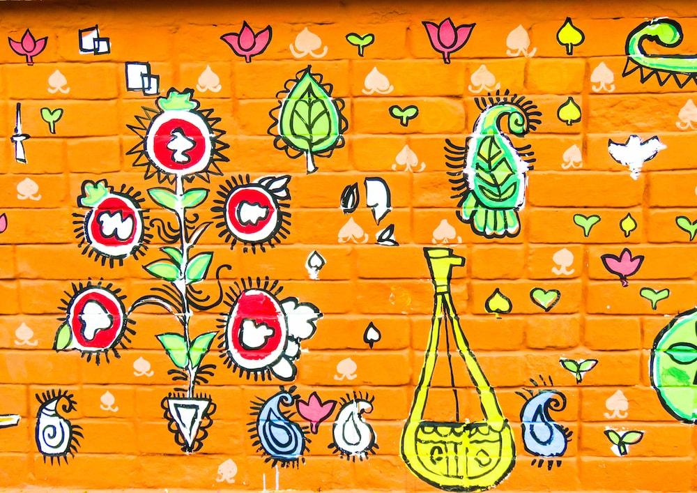yellow bag painting