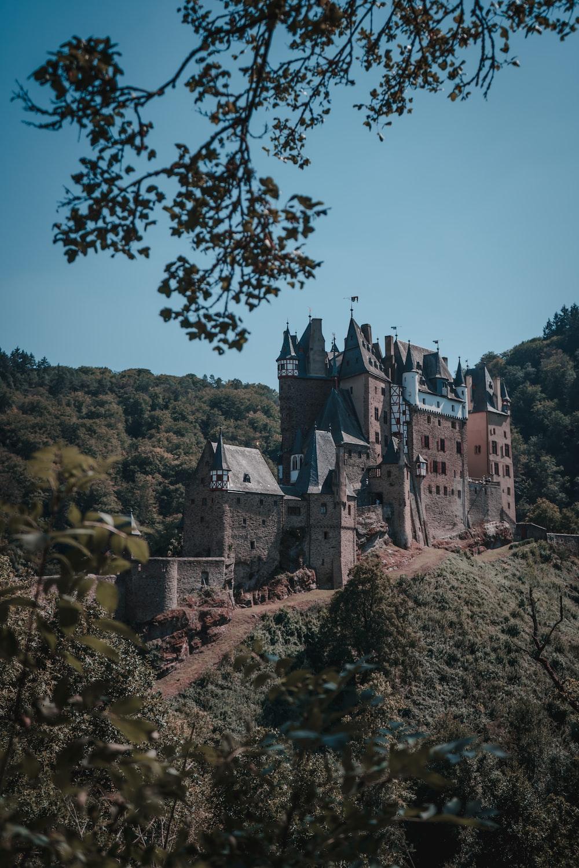 Eltz Castle in Wierschem, Germany