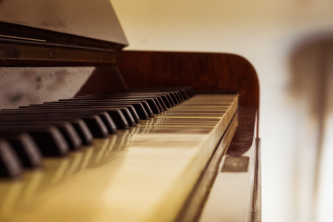 Old and classic piano.