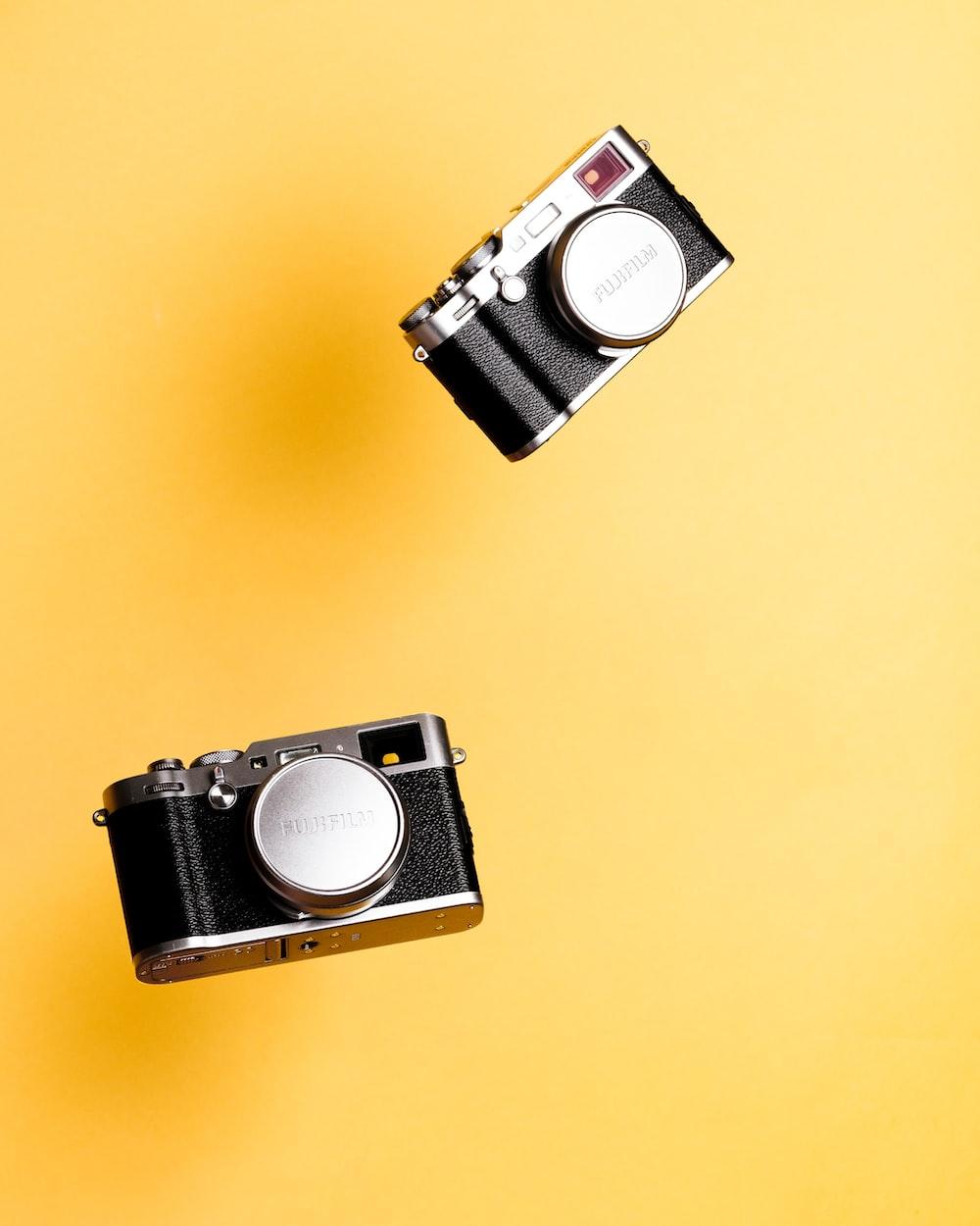 black film cameras