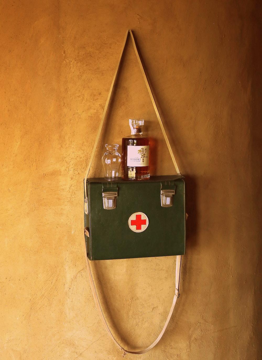 green military health kit box