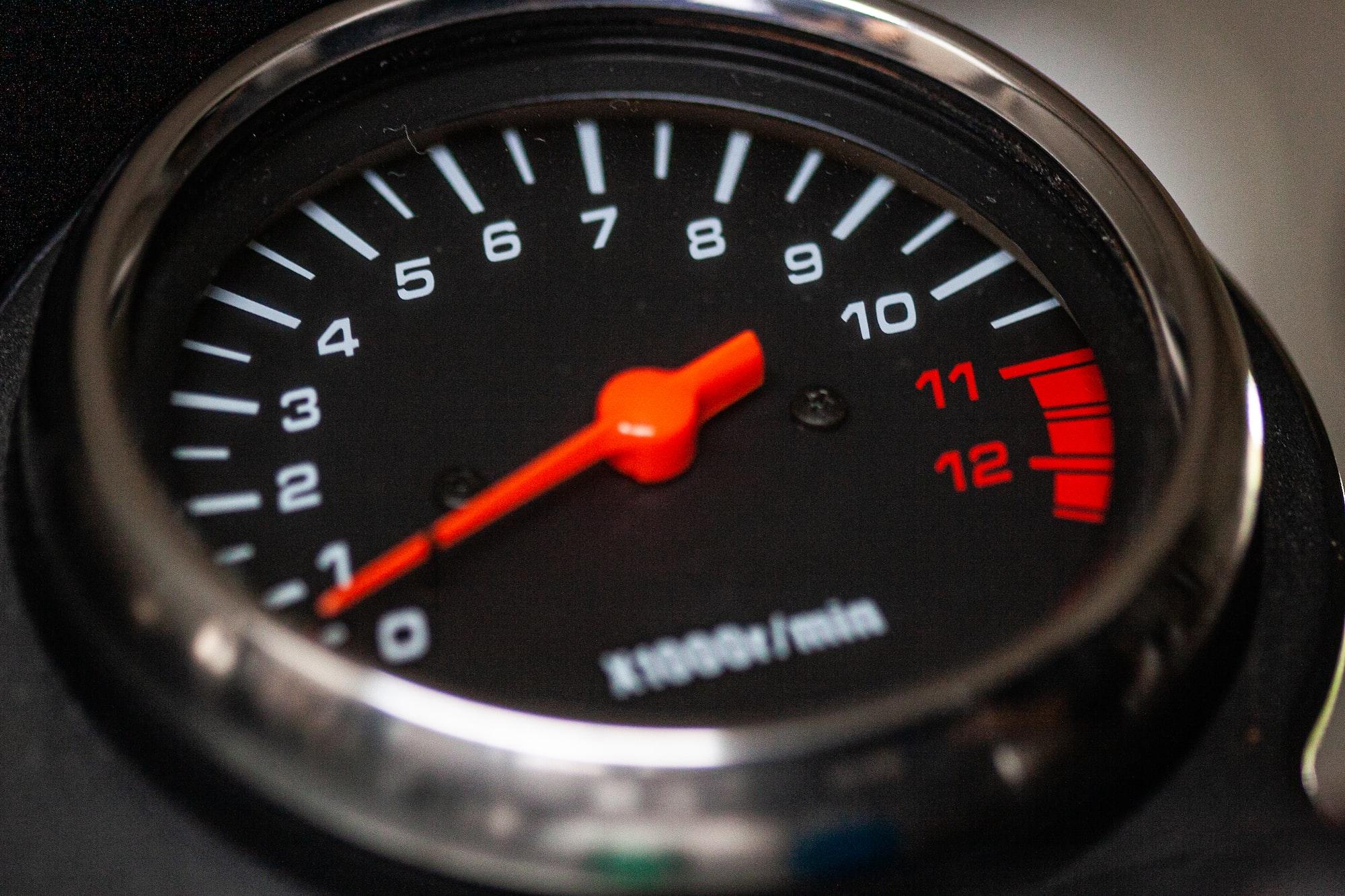 Suzuki GS500 tachometer