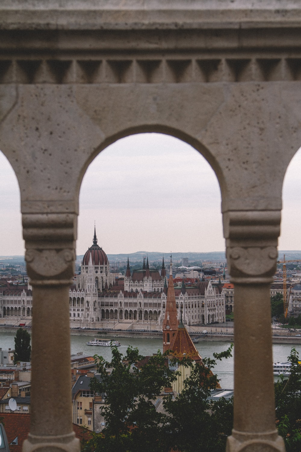 Hungarian Parliament Building during daytime