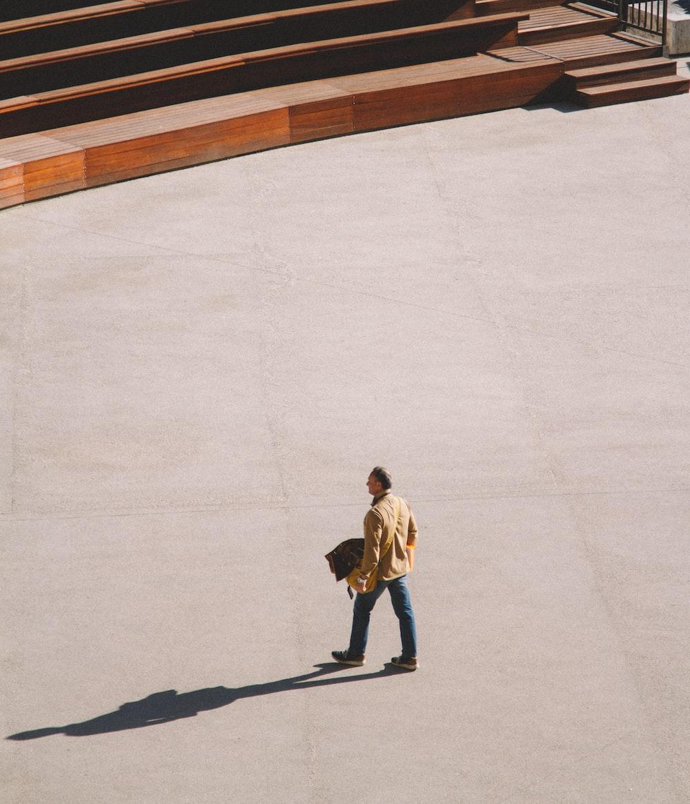 men walking near stairs during daytime