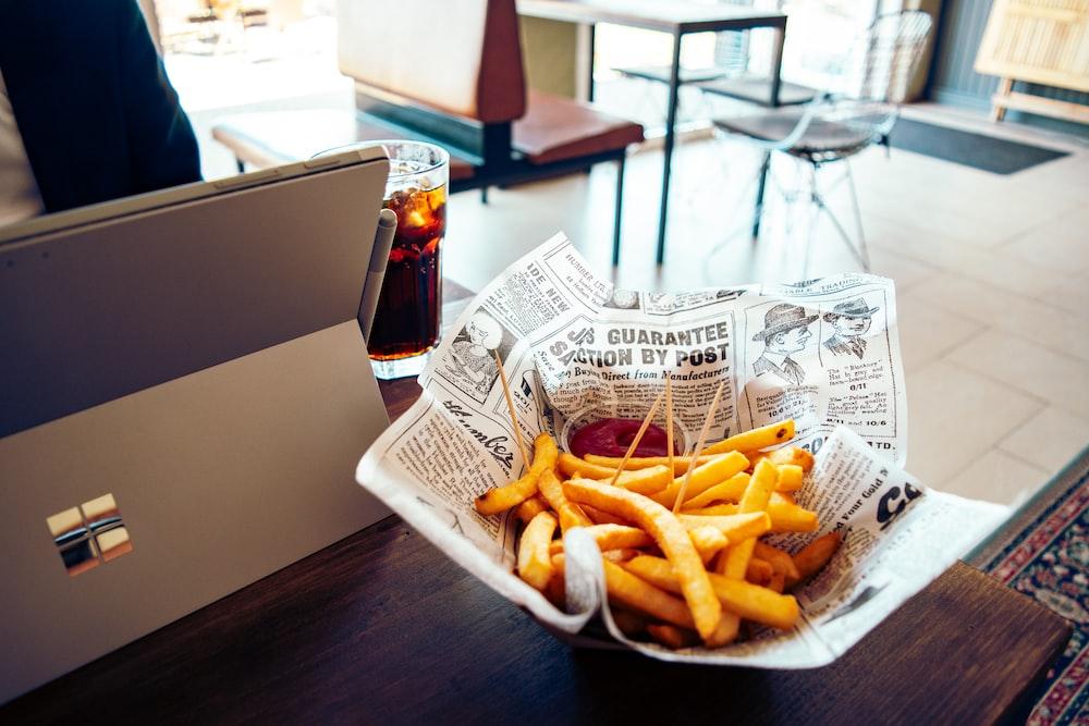 potato fries platter