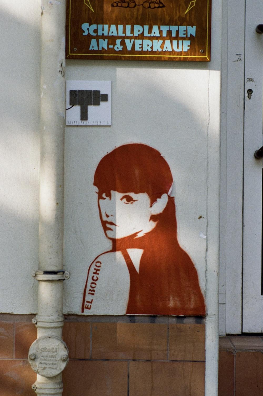 female painting