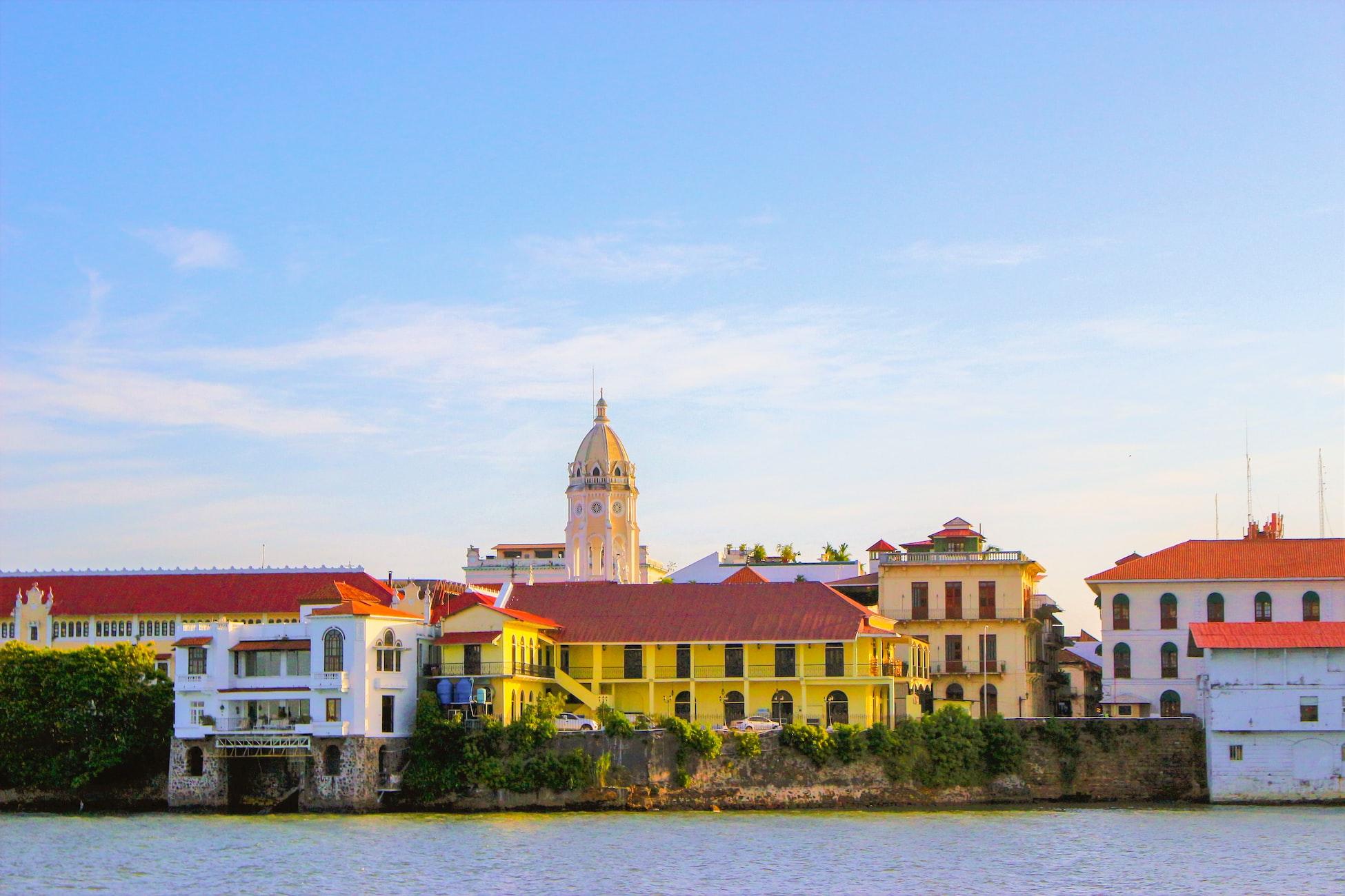 colorful buildings in panama city