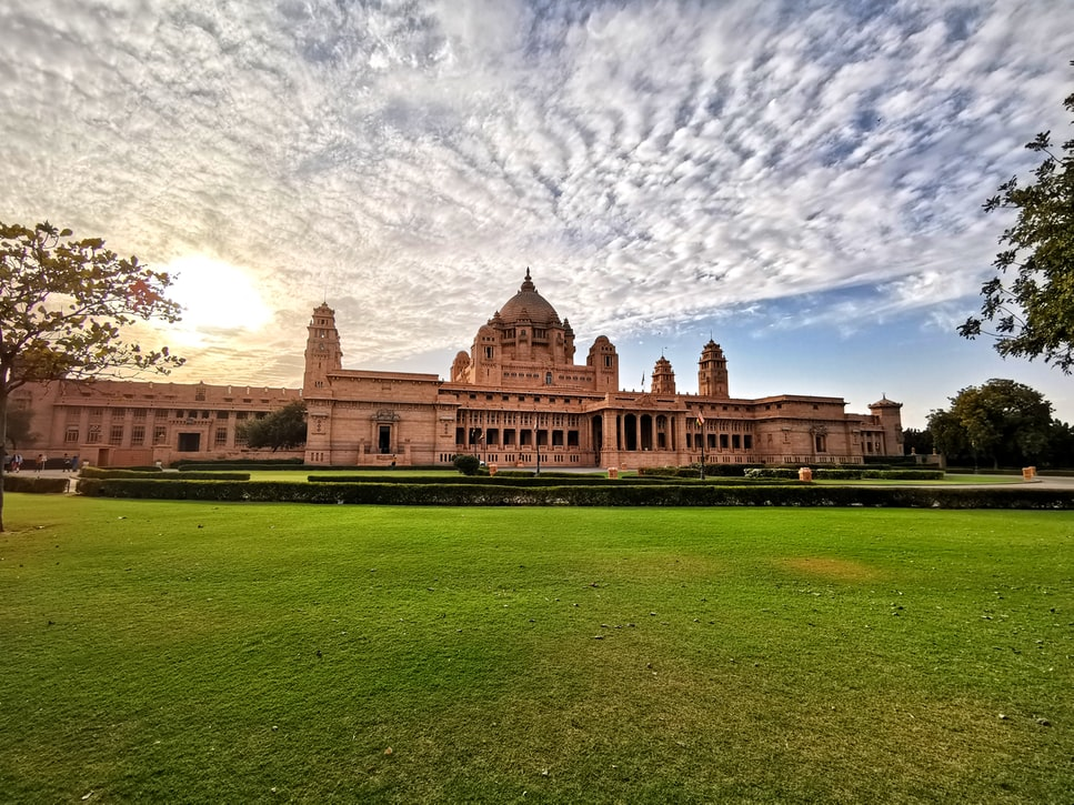 a snippet of the Umaid Bhawan Palace: 4 days around Jodhpur
