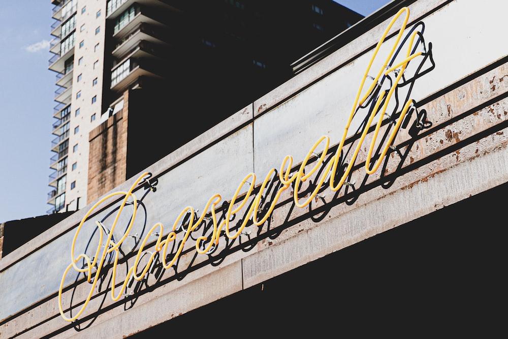 Roosevelt LED sign