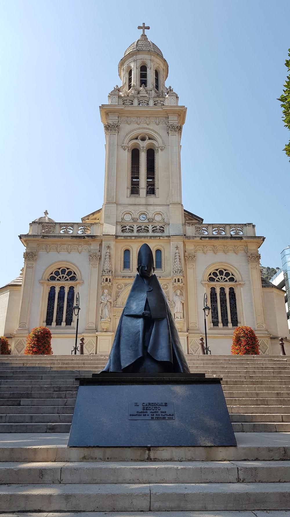 black male statue