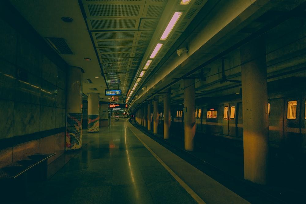 empty subway