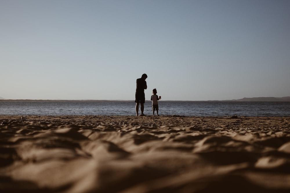 men on shore