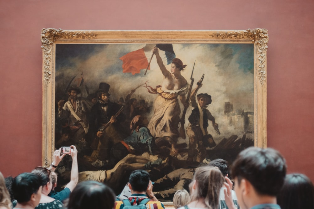 Louvre Liberty leading the people
