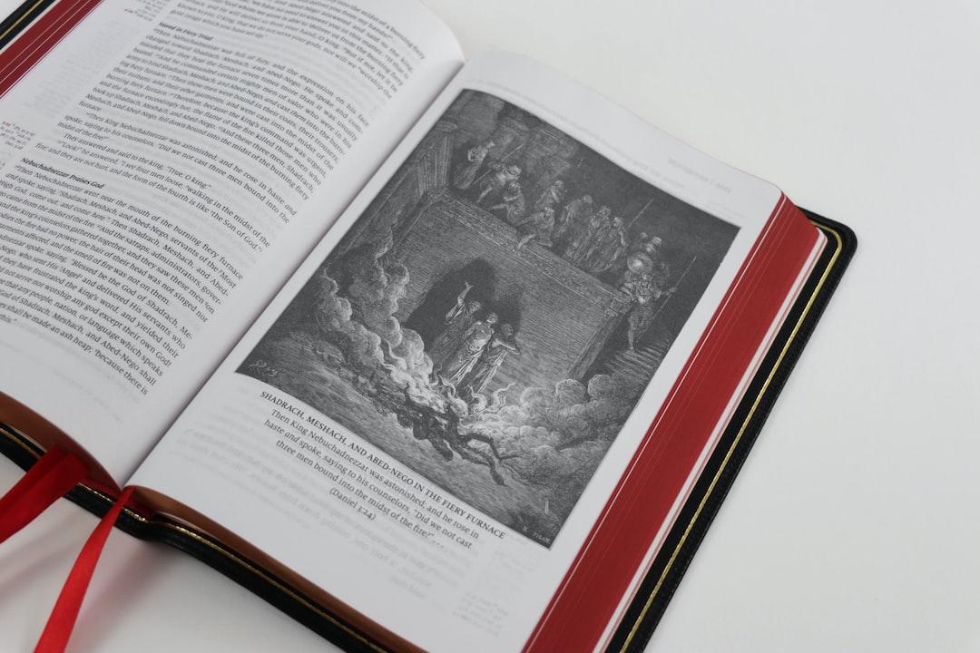 Beautiful Open Bible