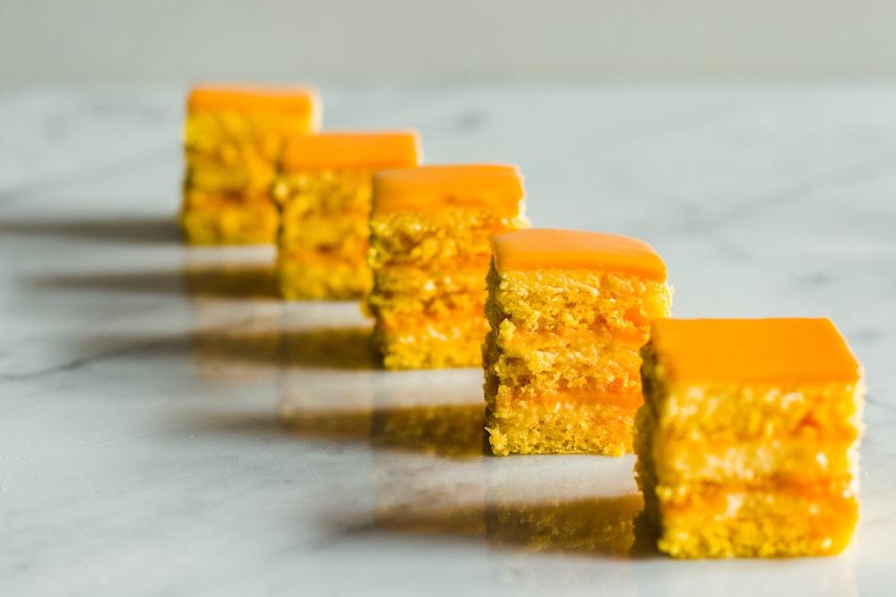 shallow focus photo of dessert