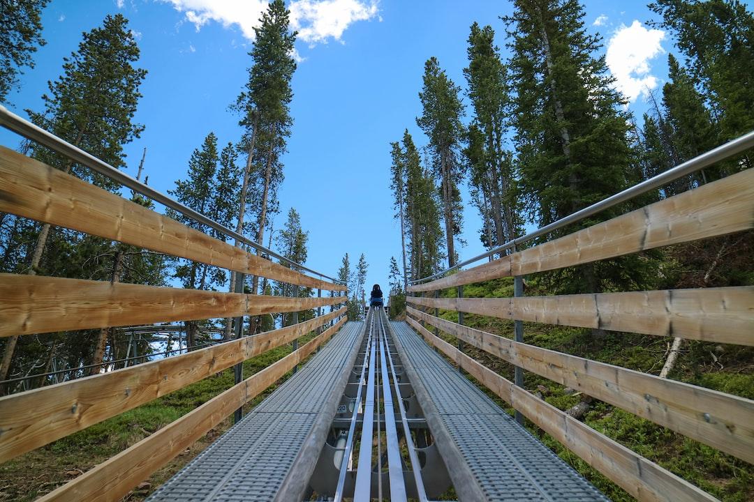 Ascending Mountain Coaster / alpine slide