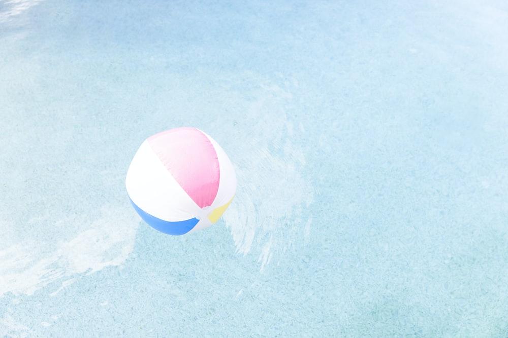 pool ball on pool