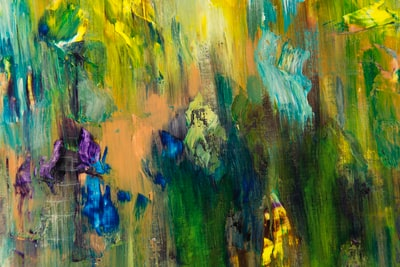 multicolored abstract painting abstract expressionism zoom background