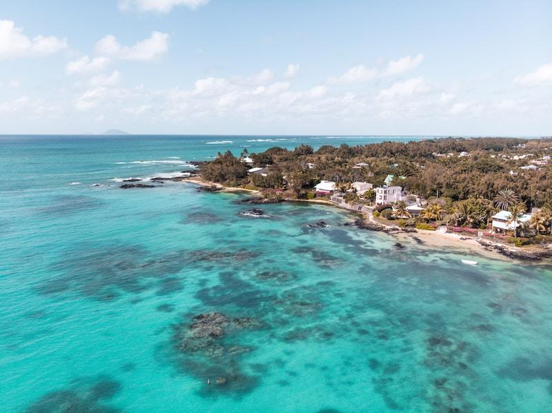 Coldest places in Mauritius by minimum mean temperature