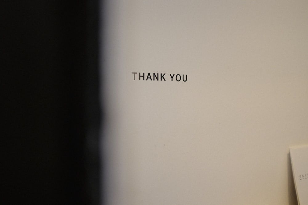 thank you text