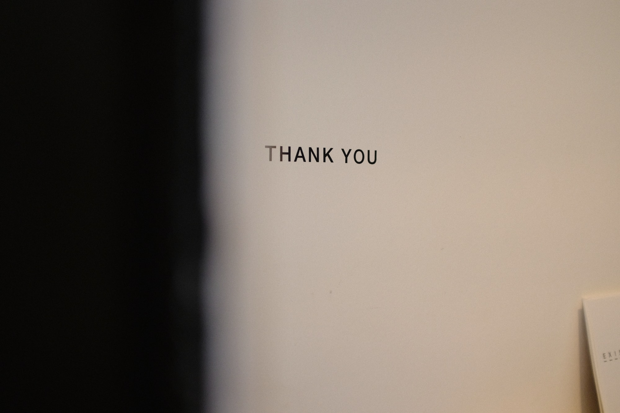 Gracias por pasar por aquí