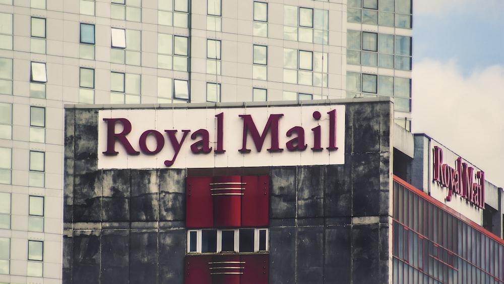 Royal Mail signage