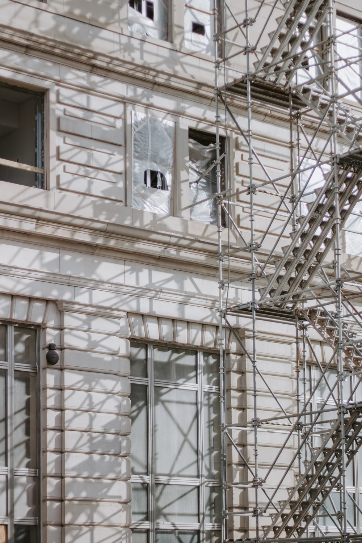 photo of gray scaffolding