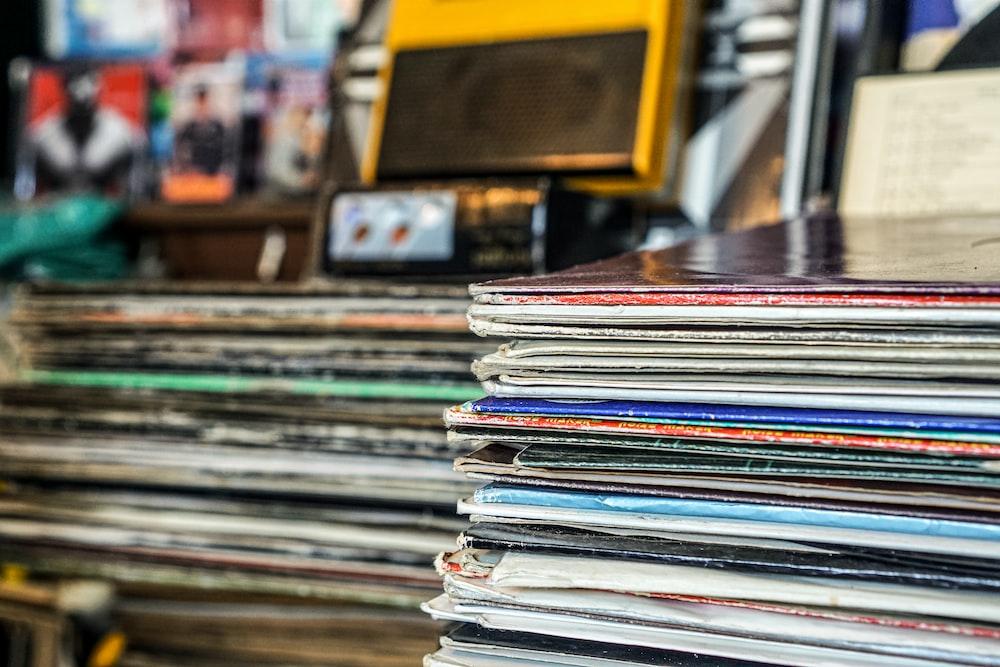 photo of vinyl records
