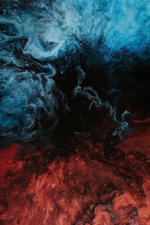 Red And Black Artwork Photo – Free Mountain Image On Unsplash