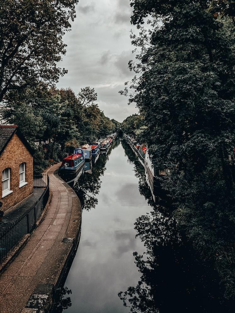 Regent's Canal in Little Venice