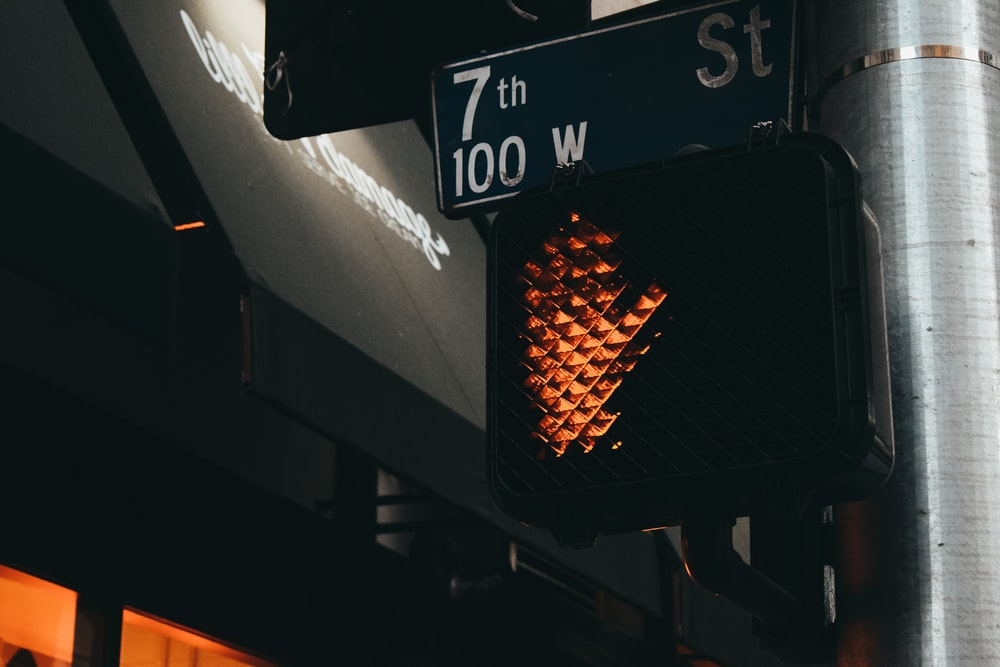 stop stoplight signage
