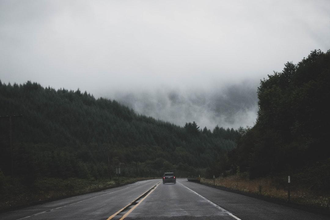 Newport, Oregon - Road to Newport