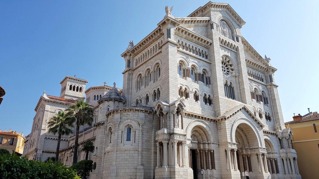 Saint Nicholas Cathedral in Monaco