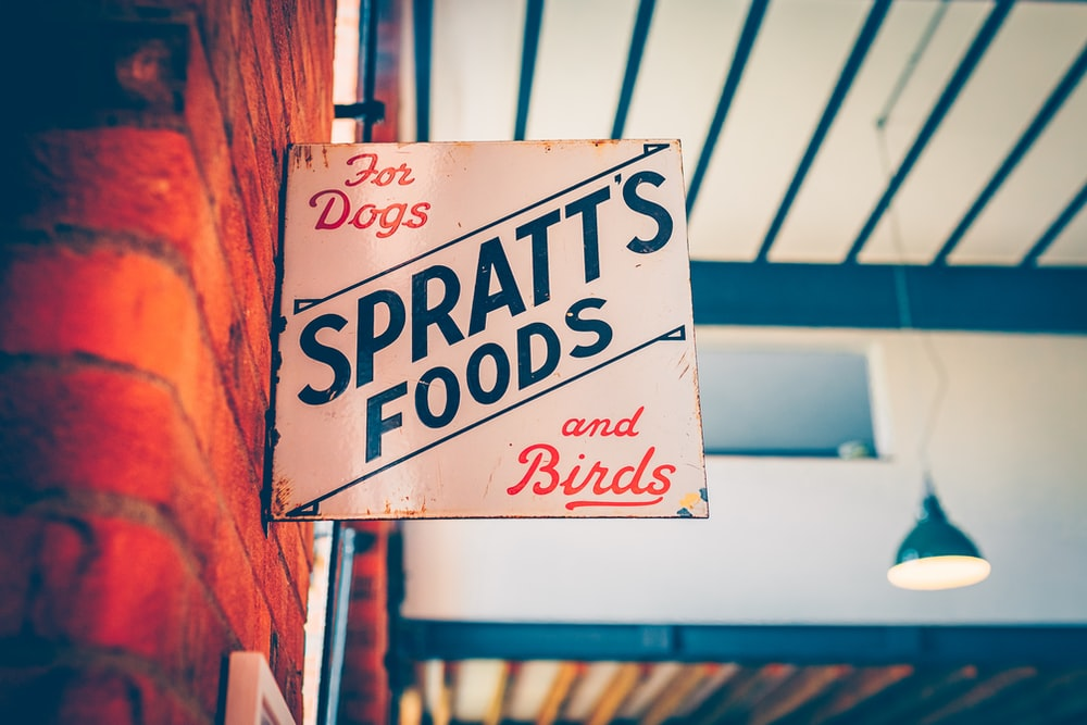 Spratts Foods signage