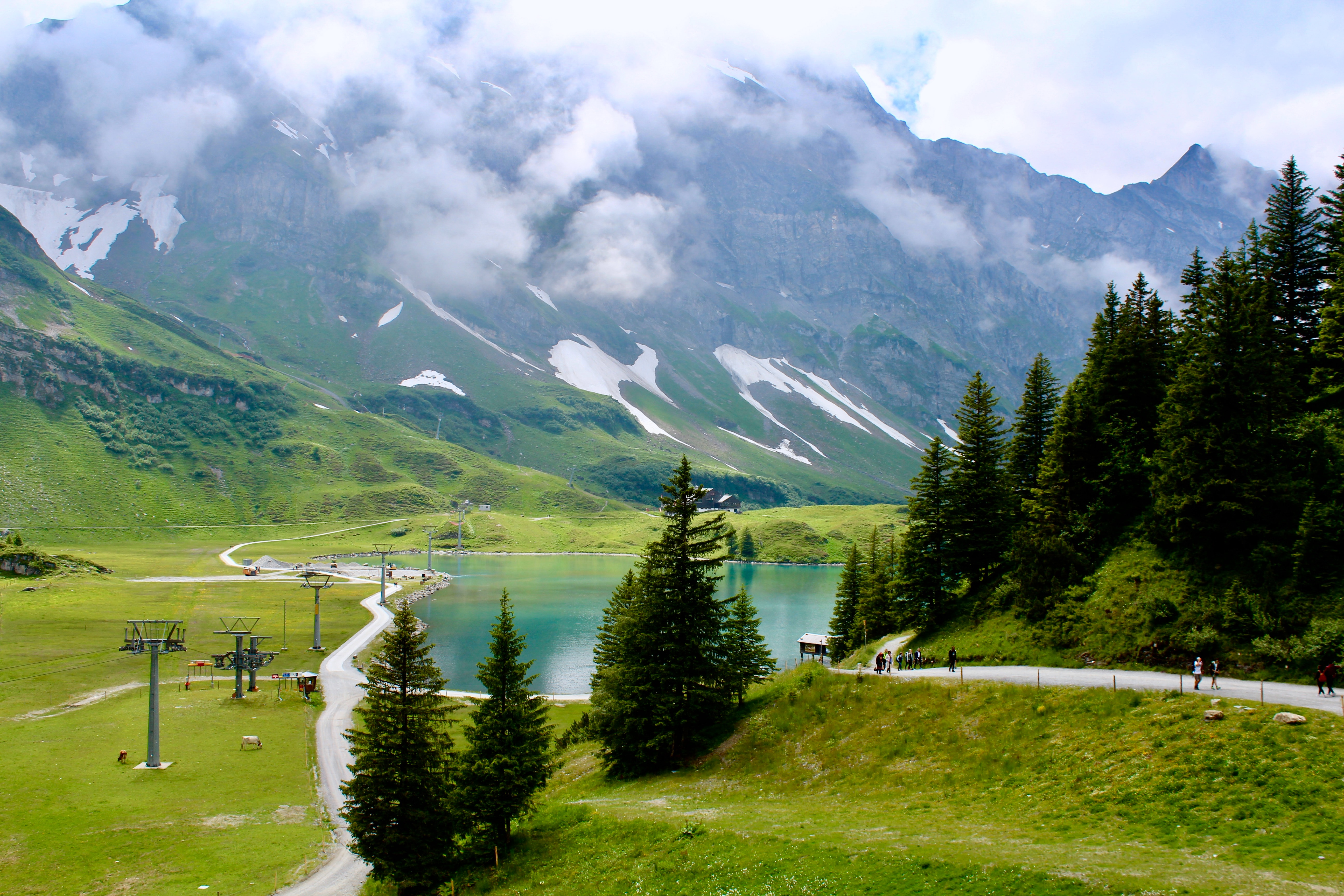 Mt.Titlis and Lake Trubsee