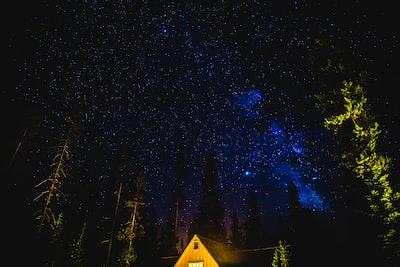 Milky Way at Crater Lake