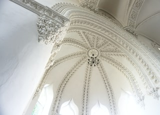 Interior of the synagogue in Grodno