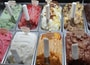 variety of ice creams