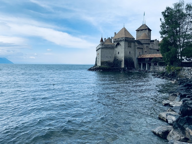 Chateau de Chillon, Switzerland, Iconic Landmarks in Europe