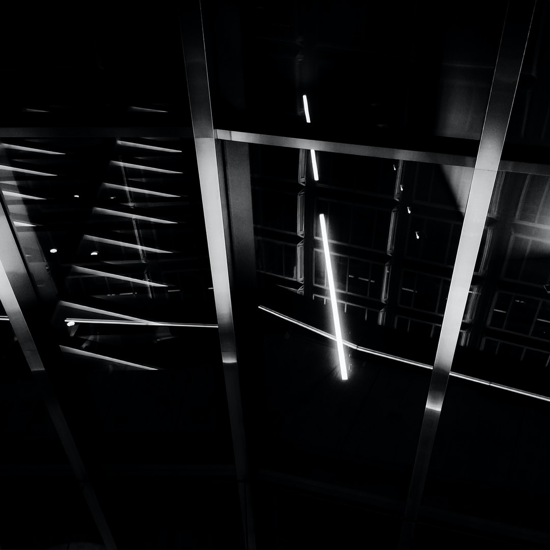 Reflections #blackandwhite #abstract #angular